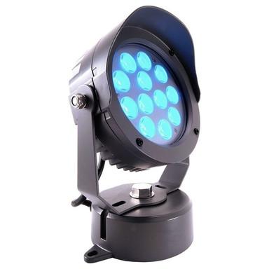 LED Wand- und Bodenstrahler Power Spot VI RGB in Anthrazit und Transparent 25W 540lm IP65