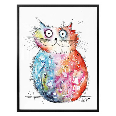 Poster Hagenmeyer - Happy Cat