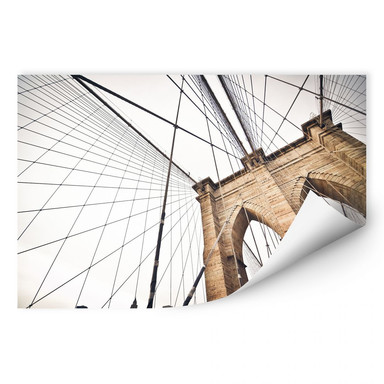 Wallprint Brooklyn Bridge - Perspektive 02