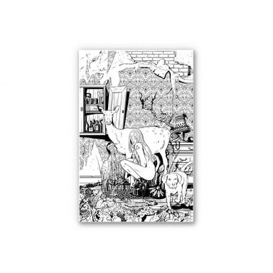 Wandbild Drawstore - In the Livingroom - Bild 1