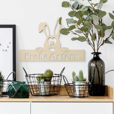 Wandschmuck Ostern mit Aufhänger