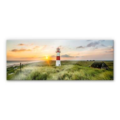 Acrylglasbild Leuchtturm auf Sylt