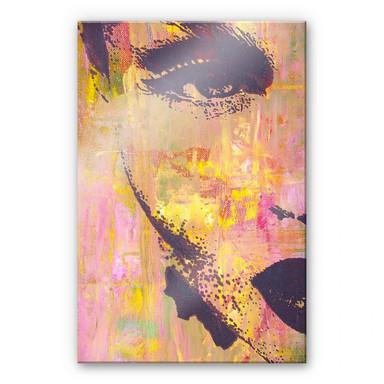 Acrylglasbild Popart-Portrait