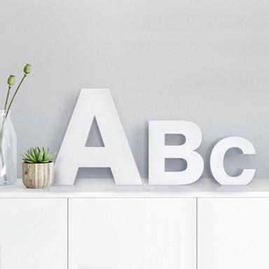 Dekobuchstaben - Schriftart Swiss