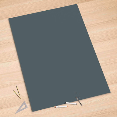 Folienbogen (100x150cm) - Blaugrau Light