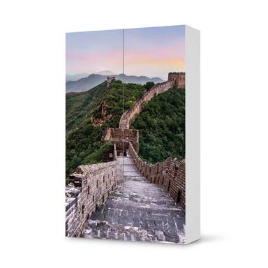 Klebefolie IKEA Besta Schrank 2 Türen (hoch) - The Great Wall
