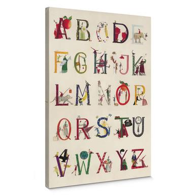 Leinwandbild Leffler - Das Alphabet