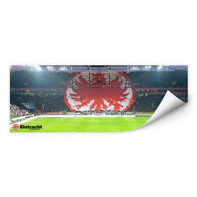 Wallprint Eintracht Frankfurt Arena Fanlogo - Panorama