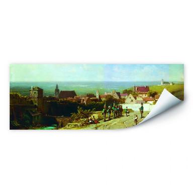 Wallprint Spitzweg - Altes Städtchen - Panorama