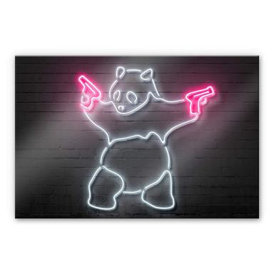 Acrylglasbild Mielu - Panda