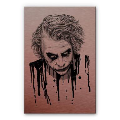 Alu-Dibond-Kupfereffekt Nicebleed - The Joker