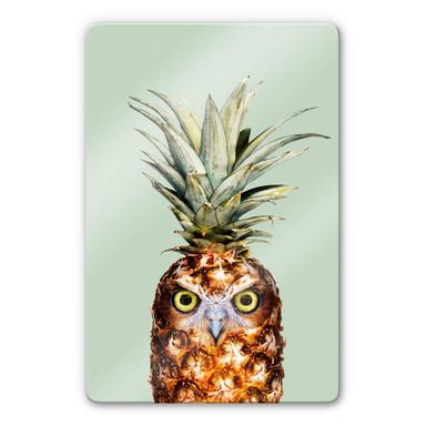 Glasbild Loose - Ananaseule