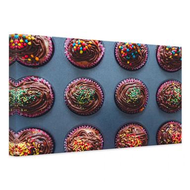 Leinwandbild Birthday Muffins