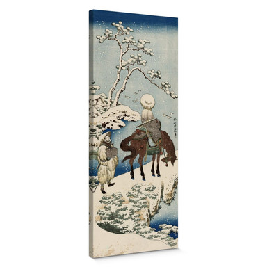 Leinwandbild Hokusai - Der chinesische Dichter Su Dongpo