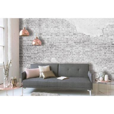 Livingwalls Fototapete Designwalls Old Brick Wall in Betonoptik - Bild 1