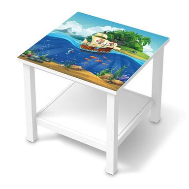 Möbel Klebefolie IKEA Hemnes Tisch 55x55cm - Pirates