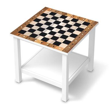 Möbel Klebefolie IKEA Hemnes Tisch 55x55cm - Spieltisch Schach- Bild 1