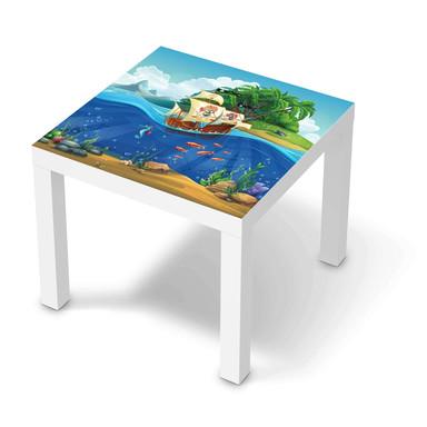 Möbelfolie IKEA Lack Tisch 55x55cm - Pirates