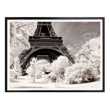 Poster Hugonnard - Winterfeeling in Paris
