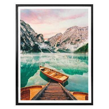 Poster Lago di Braies