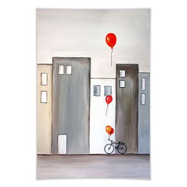 Poster Melz - Der Ballonverkäufer