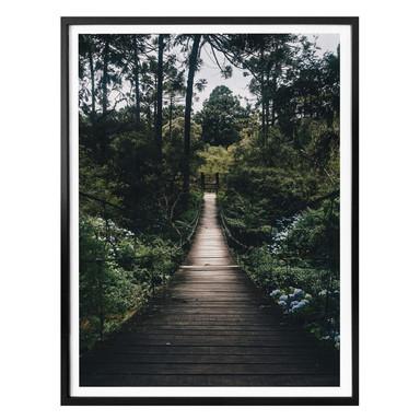 Poster Waldweg