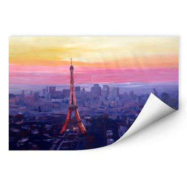 Wallprint Bleichner - Pariser Eiffelturm in der Abenddämmerung