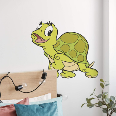 Wandsticker Benjamin Blümchen Schildkröte Selma
