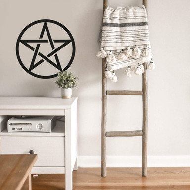 Wandtattoo Pentagramm