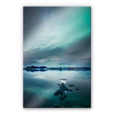 Acrylglasbild Colombo - Polarlichter