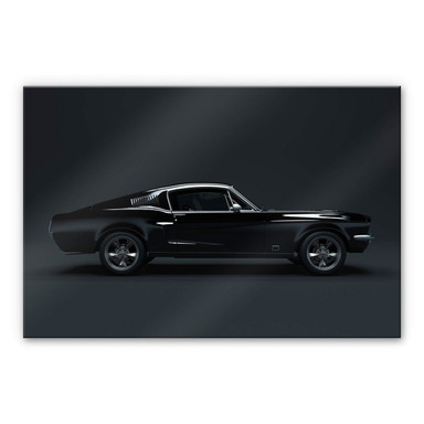Acrylglasbild - Muscle Car
