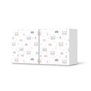 Folie IKEA Besta Regal 2 Türen (quer) - Sweet Dreams- Bild 1