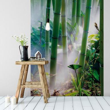 Fototapete Bamboo Forest - 144x260cm - Bild 1