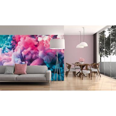 Livingwalls Fototapete Designwalls Colored Smoke modern