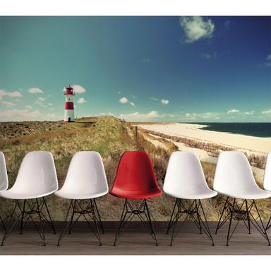 Livingwalls Fototapete Designwalls Lighthouse Strand