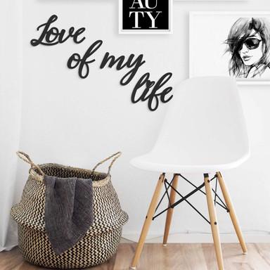 MDF - Holzdeko Love of my life