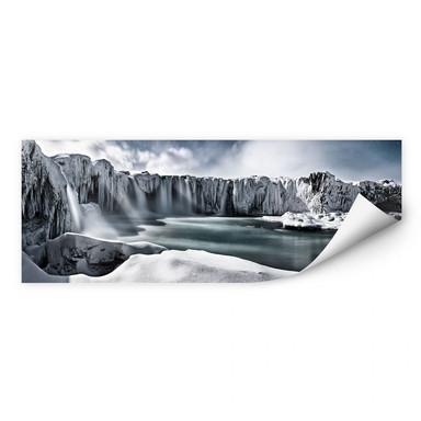 Wallprint Shcherbina - Islands Wasserfälle - Panorama
