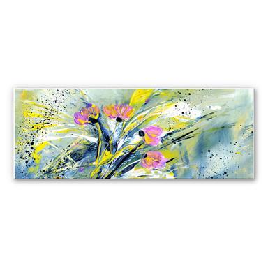 Wandbild Niksic - Flower Rock 'n' Roll