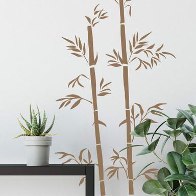 Wandtattoo Bambus 3