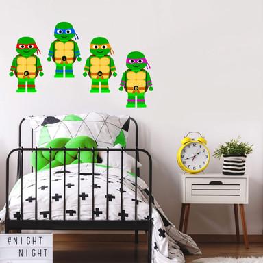 Wandtattoo Gomes - Teenage Mutant Ninja Turtles Spielzeug