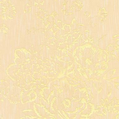 Architects Paper Textiltapete Metallic Silk Barocktapete floral creme, metallic