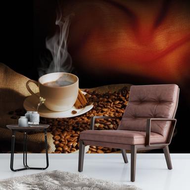 Fototapete Coffee 3 - 288x260cm - Bild 1