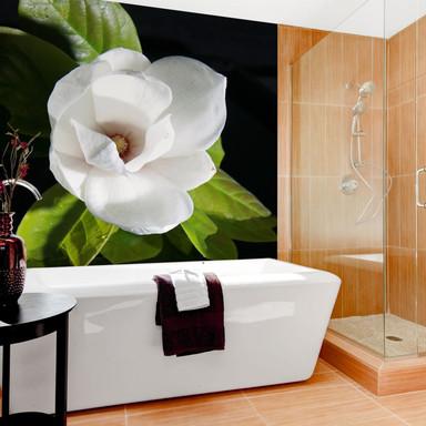 Fototapete Orchideengarten - 144x260cm - Bild 1