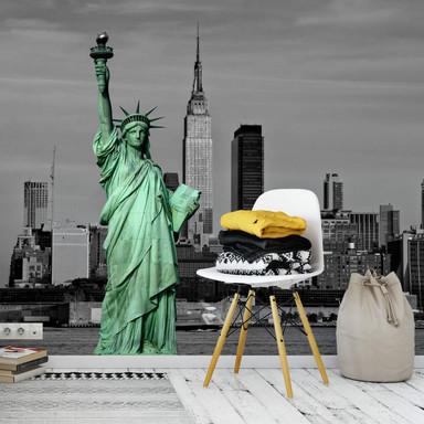 Fototapete Statue of Liberty - 336x260cm - Bild 1
