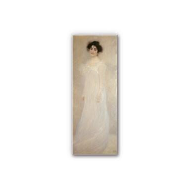 Hartschaumbild Klimt - Bildnis: Serena Lederer