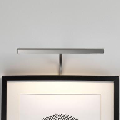 LED Bilderleuchte Mondrian in Nickel-Matt 3.6W 112lm 300mm