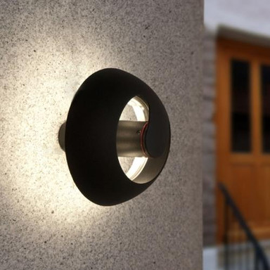 LED ECO-LIGHT Aussenwand- / deckenleuchte SPRIL