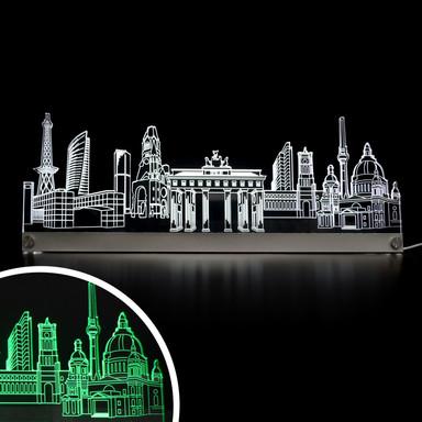 LED Skyline Berlin - Bild 1