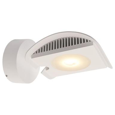 LED Wandleuchte Atis III in Weiss und Transparent 15W 1120lm IP55
