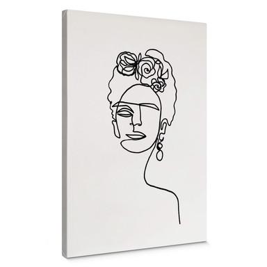 Leinwandbild Hariri - Frida Kahlo